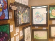 Some of the absolutely beautiful artwork in the gallery.