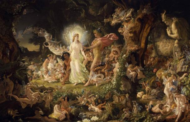 The-Quarrel-of-Oberon-and-Titania
