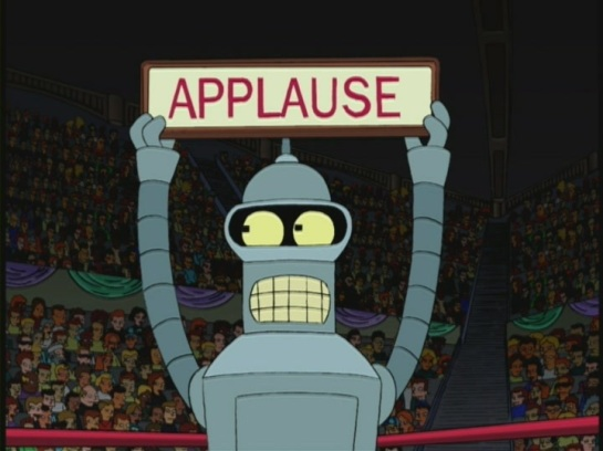 bender applause